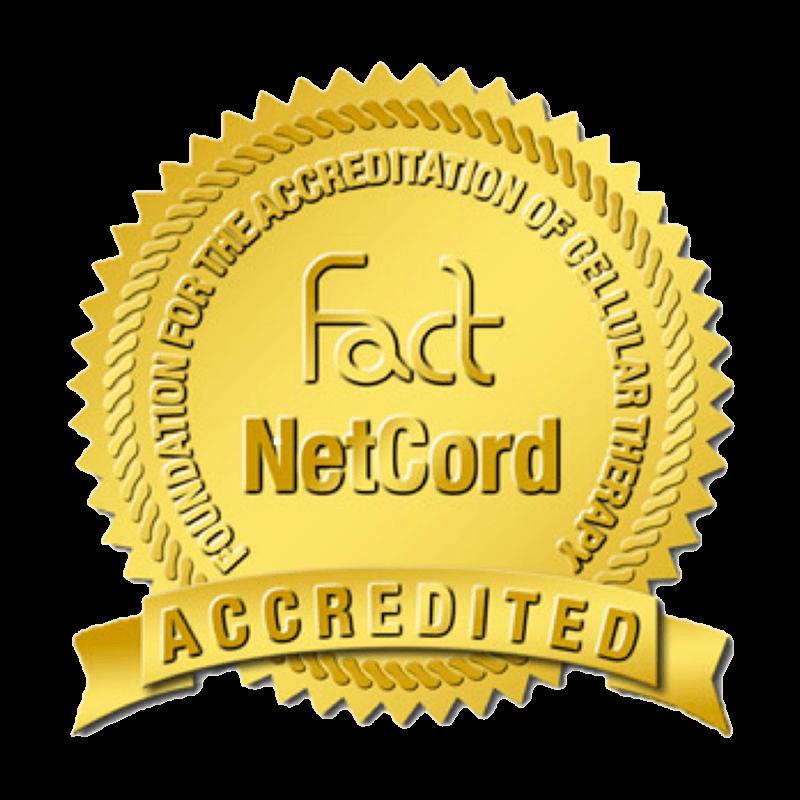 Conservazione cellule staminali del cordone ombelicale - logo fact-netcord